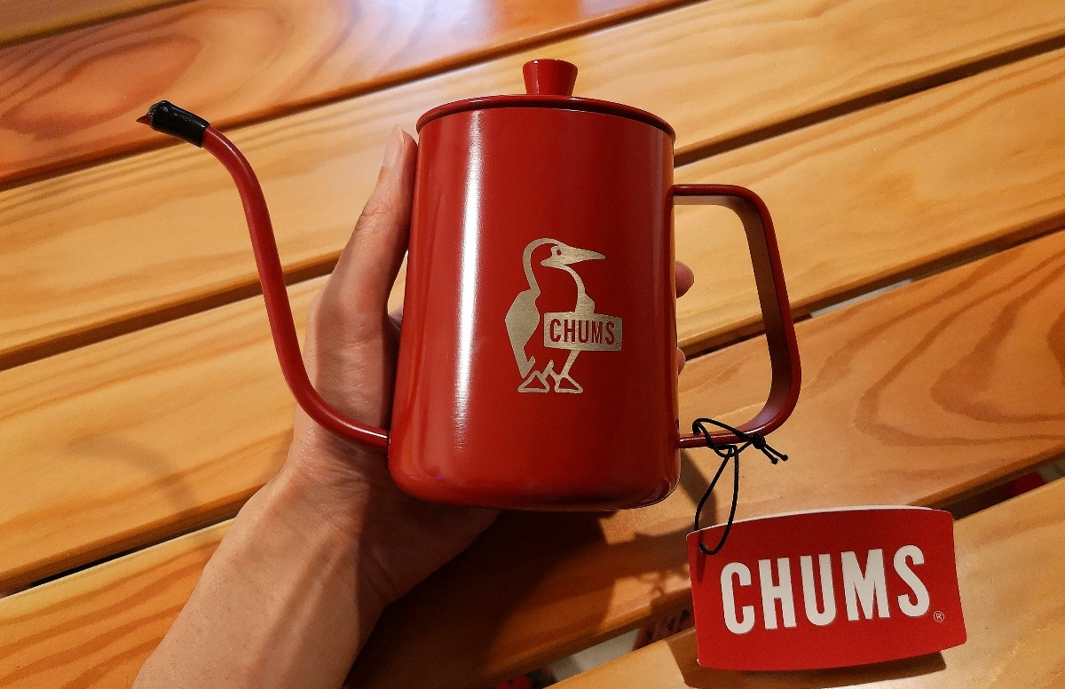 CHUMSのコーヒーポット