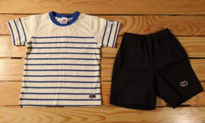 しまむらでFRUIT OF THE LOOMのキッズTシャツとショートパンツを買ったよ【しまパト】